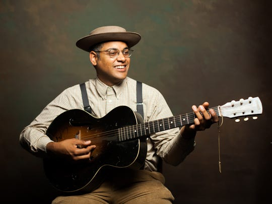 Dom Flemons performed at the opening ceremonies for the National Museum of African American History and Culture last September in Washington, D.C. He will return to The Robin Theatre on Saturday, Dec. 2.