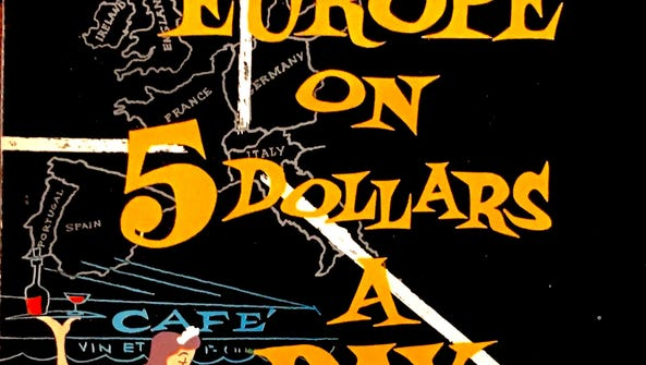 """""""Europe on 5 Dollars a Day"""" was Arthur Frommer's first"""