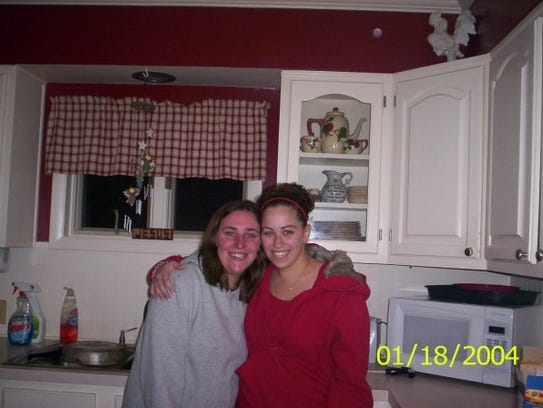 Kostadina Donnelly (left) and Amanda Economou (right)