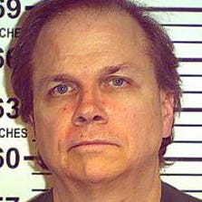 This May 15, 2012 photo provided by the New York State Department of Corrections shows Mark David Chapman at the Wende Correctional Facility in Alden, N.Y.