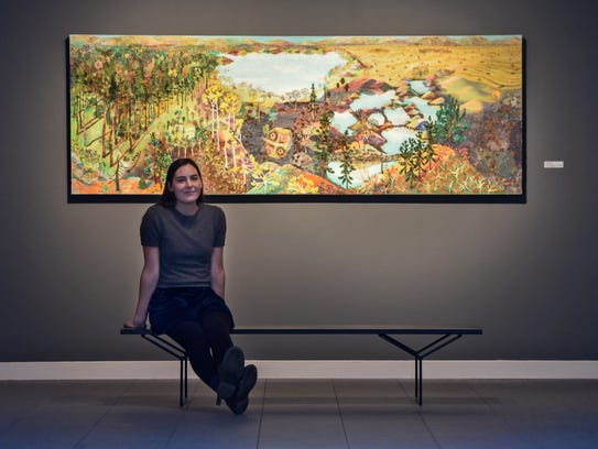 """Sophia Heymans exhibition """"Lay of the Land"""" features"""