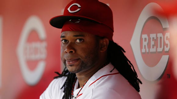 Reds starting pitcher Johnny Cueto on June 6.