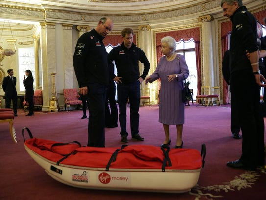 Prince Harry, the queen