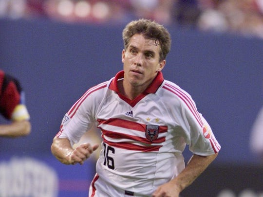 Former Mater Dei standout Richie Williams, shown playing for DC United.