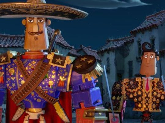 """A scene from the animated film """"Book of Life."""""""