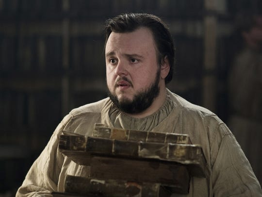Samwell Tarly (John Bradley) is a scholar whose research has yielded valuable information on HBO's 'Game of Thrones.'