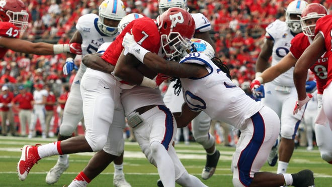 Halfback Robert Martin is coming off a 100-yard game and led Rutgers in rushing yards against Michigan State last year.