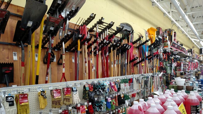 Inside Weiders Hardware in Honeoye Falls. Weiders' second location is in Brighton.