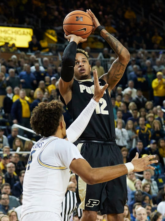 NCAA Basketball: Purdue at Michigan