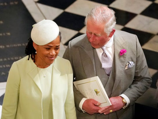 Britain's Prince Charles and Doria Ragland, mother