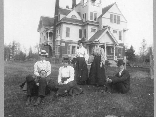 The T.B. Scott Mansion in Merrill in 1899.
