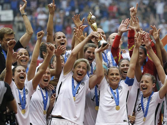 US Women Equal Pay Soccer