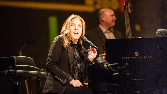 """Diana Krall performed her """"Wallflower"""" tour at Symphony Hall in Phoenix on Aug. 21, 2015."""