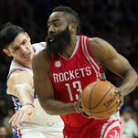 James Harden notches 51 points, triple-double in Rockets' win over 76ers