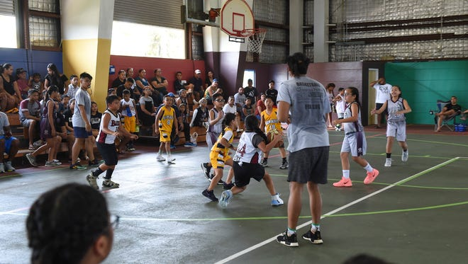 Crusaders Grey took on Yellowjackets Yellow in Guam Youth Basketball Association Drug Free League play at Astumbo Gym on June 30, 2018.