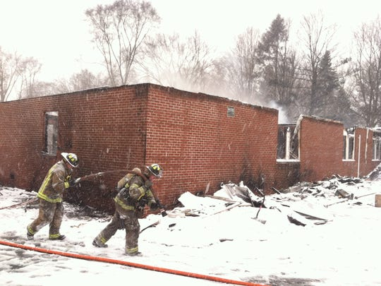 Fire destroyed Northville Montessori Center on March