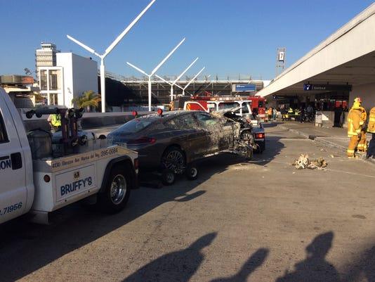 LAX crash