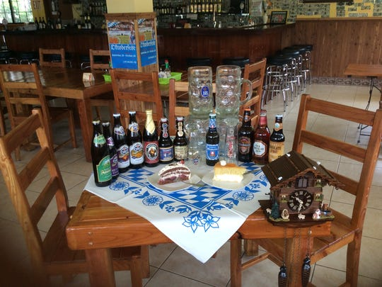 Oktoberfest at McKraut's wil feature a variety of Imported