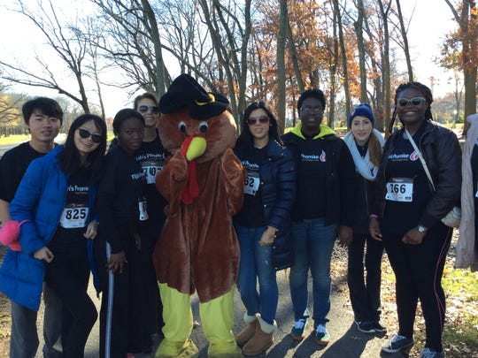 Runners of all ages came out to help Elijah's Promise raise thousands of dollars through a 5K Turkey Trot on Nov. 21.