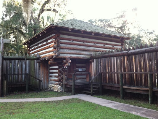 Fort Christmas Florida.Florida Frontiers Fort Christmas Park Celebrates History
