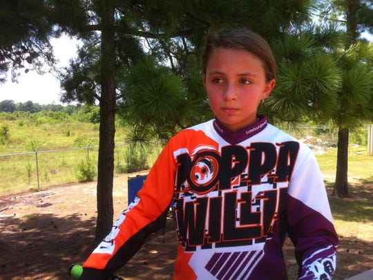 Alexas Hayes, 11, a Walnut Hill student, will compete