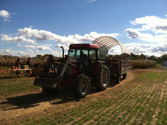 After you find your way out of the corn maze, check out Oregon Dairy Farm's chucker.