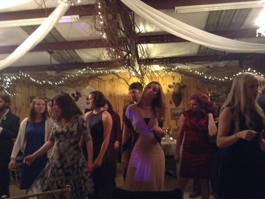 I have about as much dancing talent as I have punctuality.