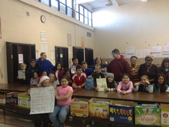 Throughout the month of December, Midland School students and staff have been very busy helping the community.