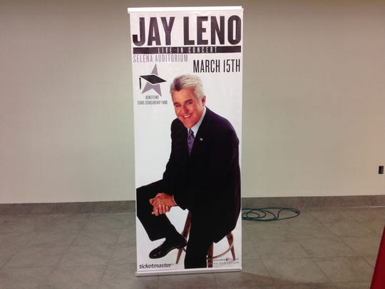 Tony LaMantia, CEO of Stars Scholarship Fund, announced Friday, Jan. 27, 2016, that Jay Leno will peform at the 14th annual Corpus Christi Stars Scholarship Fund fundraiser, scheduled for March 14.