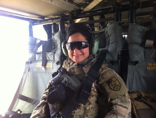 Retired Army Col. Maria Zumwalt received a scholarship