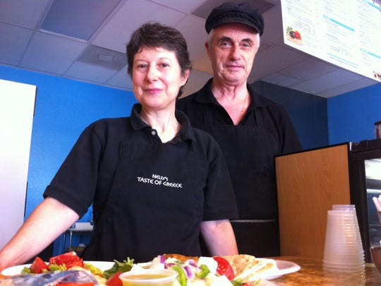 Nelly and Mike Daugherty opened Nelly's Taste of Greece in March 2008. The Cape Coral restaurant has closed.