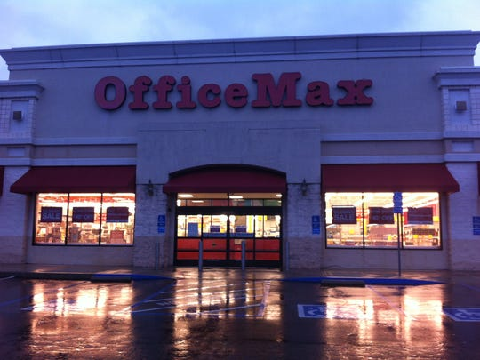The OfficeMax in Redding opened in 1997.