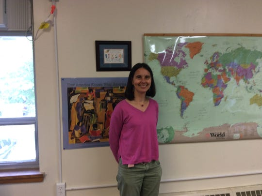 Wendy Jaeger is the English-as-a-Second Language teacher for Interfath RISE at the Reformed Church of Highland Park.