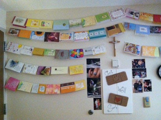 Hundreds of greeting cards poured into Meryll Rose's