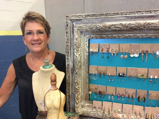 Dawn Pierro of Turtle Moon Designs in Frankford specializes in jewelry design and mixed metal work. The Southeastern Delaware Artist Studio Tour returns to the Bethany Beach-Ocean View area over the Thanksgiving Weekend as local artist's opened their homes and studios to the public.