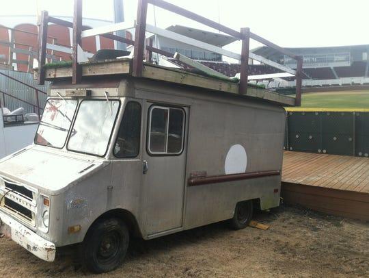 Phil Silva's milk truck.