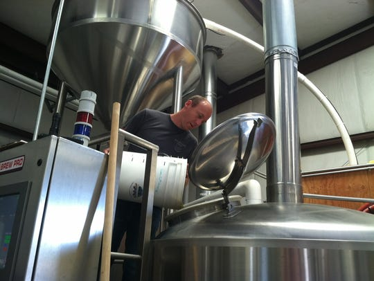 Jeff Hansen, the co-founder and brewmaster at Wildcard