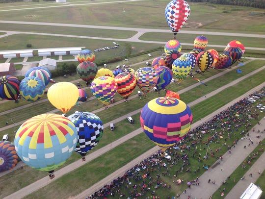 The Greater Lansing Balloon Festival kicks off Friday,