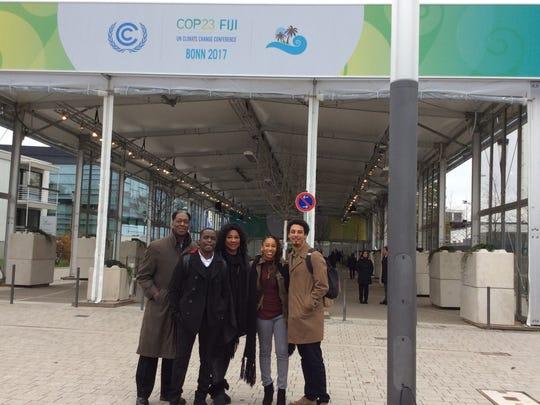 FAMU professor John Warford was invited to attend the United National Global Climate Change Conference.