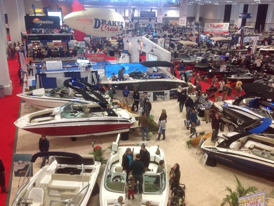 The Nashville Boat Show is Thursday-Sunday at Music
