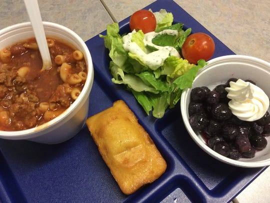 Some students at Templeton Middle School have had their lunches taken away when they don't have sufficient funds in their lunch accounts.