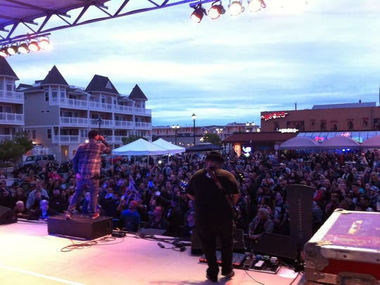 P.O.D. plays the Jersey Shore Festival in Seaside Heights.