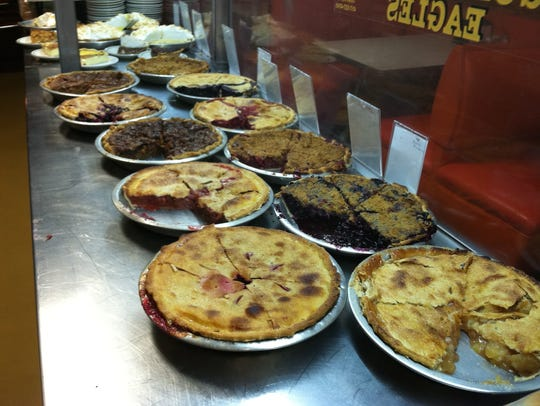 Cooky's Cafe in Golden City goes through 40 pies a