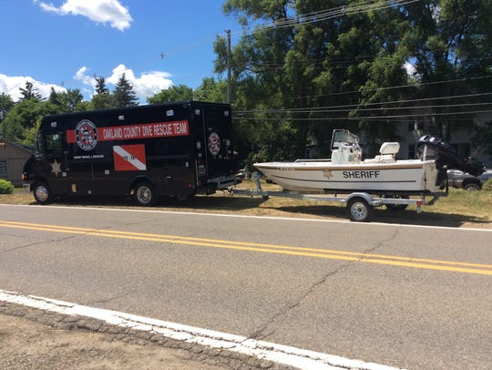The Oakland County Sheriff's Office dive team and marine unit spent three days trying to find the body of a Hartland man who drowned Sunday, July 15, 2018, in White Lake.