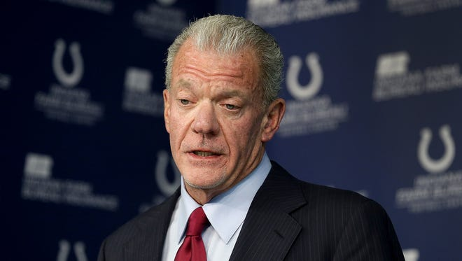 "Without mentioning when, Colts owner Jim Irsay told fans on Wednesday that Andrew Luck ""will be back and have a very, very long and great career with us."""