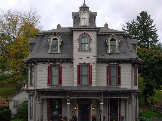 """Our Fair Lady,"" 313 E. Linn St., is representative of the many Victorian houses in the Bellefonte area."