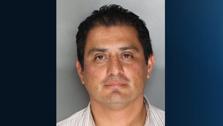 Mugshot for State Senator Ben Hueso who was arrested for drunken driving in Sacramento Friday morning.