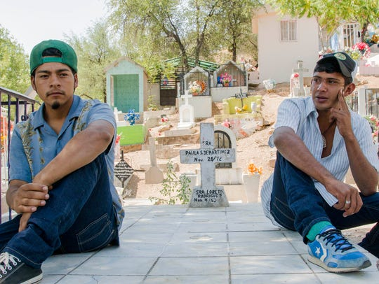 Nelson Gabriel Valladares Funes, 21, (left) and Norlan