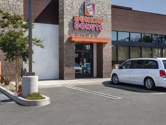 A Dunkin' Donuts