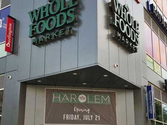 The outside of a Whole Foods store.
